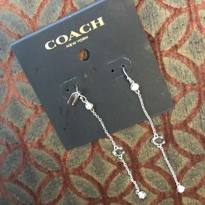 Coach earrings NWT